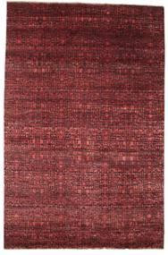 Damask Dywan 200X306 Nowoczesny Tkany Ręcznie Ciemnoczerwony/Brązowy ( Indie)