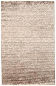 Damask Dywan 195X302 Nowoczesny Tkany Ręcznie Jasnoszary/Biały/Creme ( Indie)