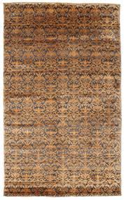Damask Dywan 183X302 Nowoczesny Tkany Ręcznie Brązowy/Jasnobrązowy ( Indie)