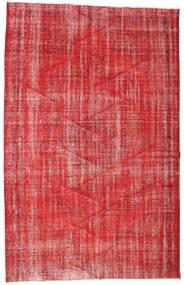 Colored Vintage Dywan 190X302 Nowoczesny Tkany Ręcznie Rdzawy/Czerwony/Ciemnoczerwony (Wełna, Turcja)