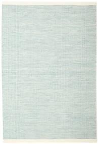 Seaby - Niebieski Dywan 160X230 Nowoczesny Tkany Ręcznie Turkusowy Niebieski/Biały/Creme (Wełna, Indie)