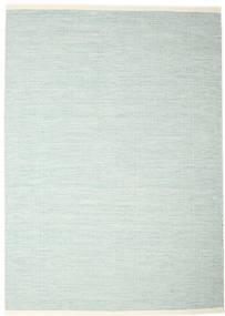 Seaby - Niebieski Dywan 250X350 Nowoczesny Tkany Ręcznie Turkusowy Niebieski/Biały/Creme Duży (Wełna, Indie)
