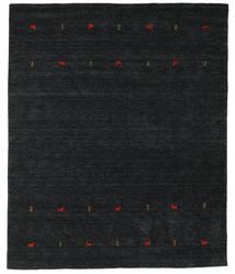 Gabbeh Loom Two Lines - Czarny/Szary Dywan 240X290 Nowoczesny Czarny (Wełna, Indie)