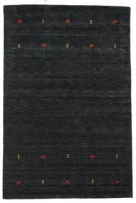 Gabbeh Loom Two Lines - Czarny/Szary Dywan 190X290 Nowoczesny Czarny (Wełna, Indie)