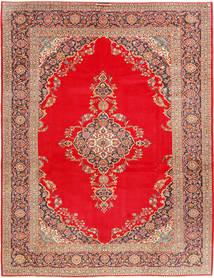 Keszan Dywan 293X388 Orientalny Tkany Ręcznie Czerwony/Jasnobrązowy Duży (Wełna, Persja/Iran)