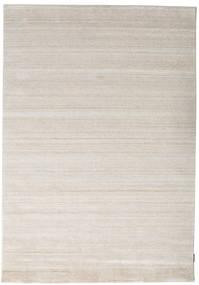 Bamboo Jedwab Loom - Beżowy Dywan 160X230 Nowoczesny Jasnoszary ( Indie)