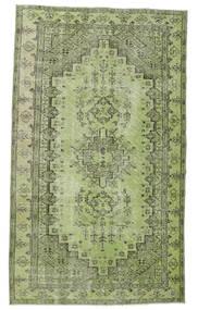 Colored Vintage Dywan 148X255 Nowoczesny Tkany Ręcznie Jasnozielony/Ciemnozielony (Wełna, Turcja)