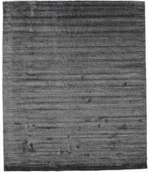 Bamboo Jedwab Loom - Szarość Weglowa Dywan 250X300 Nowoczesny Ciemnoszary/Fioletowy Duży ( Indie)