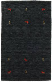 Gabbeh Loom Two Lines - Czarny/Szary Dywan 100X160 Nowoczesny Czarny (Wełna, Indie)