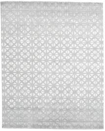 Himalaya Dywan 244X306 Nowoczesny Tkany Ręcznie Biały/Creme/Jasnoszary (Wełna/Jedwab Bambusowy, Indie)
