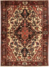 Baktjar Dywan 165X227 Orientalny Tkany Ręcznie Ciemnobrązowy/Ciemnoczerwony (Wełna, Persja/Iran)