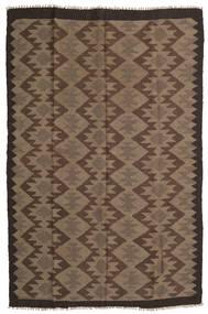 Kilim Maimane Dywan 160X243 Orientalny Tkany Ręcznie Brązowy/Ciemnobrązowy (Wełna, Afganistan)