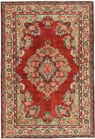Saruk Patina Dywan 137X200 Orientalny Tkany Ręcznie Ciemnoczerwony/Rdzawy/Czerwony (Wełna, Persja/Iran)