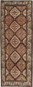 Hamadan Patina Dywan 105X285 Orientalny Tkany Ręcznie Chodnik Brązowy/Ciemnoszary (Wełna, Persja/Iran)