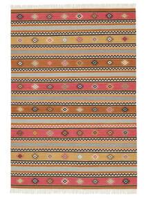 Kilim - Nezzim - Nezzim Dywan 170X240 Nowoczesny Tkany Ręcznie Jasnobrązowy/Jasnoszary ( Indie)