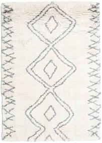 Berber Shaggy Massin Dywan 140X200 Nowoczesny Beżowy/Jasnoszary ( Turcja)