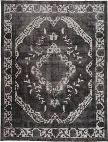 Colored Vintage Dywan 278X377 Nowoczesny Tkany Ręcznie Czarny/Ciemnoszary/Jasnoszary Duży (Wełna, Pakistan)