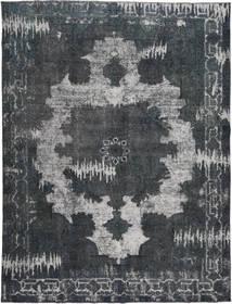 Colored Vintage Dywan 290X377 Nowoczesny Tkany Ręcznie Ciemnoszary/Ciemnoniebieski Duży (Wełna, Persja/Iran)