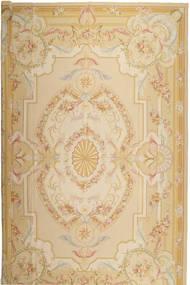 Aubousson Dywan 366X549 Orientalny Tkany Ręcznie Beżowy/Ciemnobeżowy Duży (Wełna, Chiny)