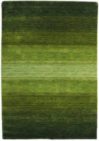 Gabbeh Rainbow - Zielony Dywan 140X200 Nowoczesny Ciemnozielony/Zielony/Oliwkowy (Wełna, Indie)