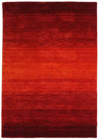 Gabbeh Rainbow - Czerwony Dywan 140X200 Nowoczesny Rdzawy/Czerwony/Ciemnoczerwony (Wełna, Indie)
