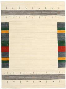 Loribaf Loom Designer - Beżowy Dywan 210X290 Nowoczesny Beżowy/Ciemnobeżowy (Wełna, Indie)