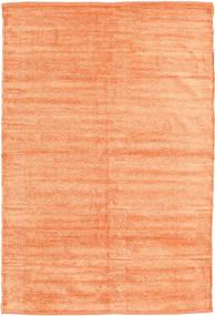 Kilim Szenil - Brzoskwiniowy Pomarańczowy Dywan 120X180 Orientalny Tkany Ręcznie Ciemnobeżowy/Pomarańczowy ( Indie)