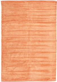 Kilim Szenil - Brzoskwiniowy Pomarańczowy Dywan 140X200 Orientalny Tkany Ręcznie Ciemnobeżowy/Pomarańczowy ( Indie)