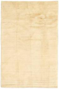 Gabbeh (Persja) Dywan 100X156 Nowoczesny Tkany Ręcznie Beżowy/Ciemnobeżowy (Wełna, Persja/Iran)