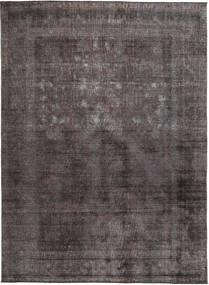 Colored Vintage Dywan 273X331 Nowoczesny Tkany Ręcznie Czarny/Brązowy Duży (Wełna, Pakistan)