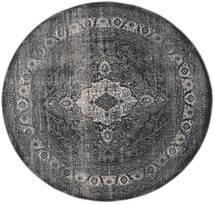Jacinda - Anthracite Dywan Ø 200 Nowoczesny Okrągły Ciemnoszary/Czarny ( Turcja)