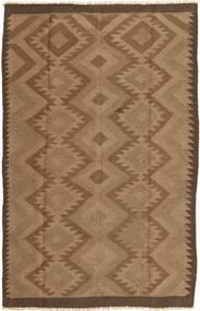 Kilim Dywan 157X241 Orientalny Tkany Ręcznie Brązowy (Wełna, Persja/Iran)