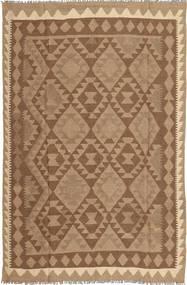 Kilim Dywan 158X244 Orientalny Tkany Ręcznie Brązowy/Jasnobrązowy (Wełna, Persja/Iran)