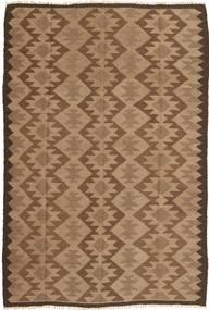 Kilim Dywan 157X237 Orientalny Tkany Ręcznie Brązowy/Jasnobrązowy (Wełna, Persja/Iran)