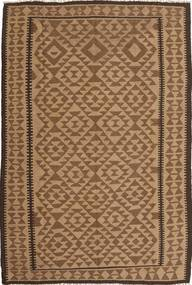 Kilim Dywan 165X244 Orientalny Tkany Ręcznie Brązowy/Jasnobrązowy (Wełna, Persja/Iran)