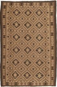 Kilim Dywan 159X247 Orientalny Tkany Ręcznie Brązowy/Ciemnobrązowy (Wełna, Persja/Iran)