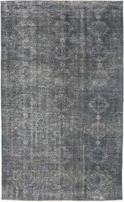 Colored Vintage Dywan 160X260 Nowoczesny Tkany Ręcznie Ciemnoszary/Niebieski (Wełna, Turcja)