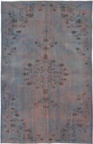Colored Vintage Dywan 167X263 Nowoczesny Tkany Ręcznie Ciemnoszary/Ciemnobrązowy (Wełna, Turcja)