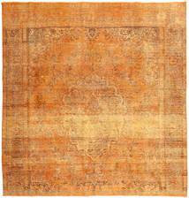 Colored Vintage Dywan 285X290 Nowoczesny Tkany Ręcznie Kwadratowy Jasnobrązowy/Pomarańczowy Duży (Wełna, Persja/Iran)