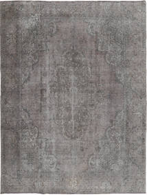 Colored Vintage Dywan 285X370 Nowoczesny Tkany Ręcznie Jasnoszary/Ciemnoszary Duży (Wełna, Persja/Iran)