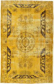 Colored Vintage Dywan 192X306 Nowoczesny Tkany Ręcznie Żółty/Brązowy (Wełna, Turcja)