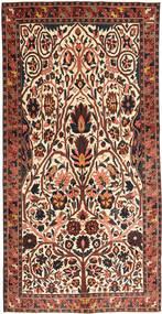Baktjar Patina Dywan 150X303 Orientalny Tkany Ręcznie Ciemnobrązowy/Ciemnoczerwony (Wełna, Persja/Iran)