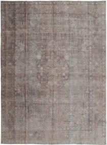 Vintage Dywan 293X393 Nowoczesny Tkany Ręcznie Jasnoszary/Ciemnobrązowy Duży (Wełna, Persja/Iran)