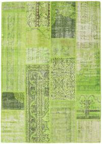 Patchwork Dywan 160X228 Nowoczesny Tkany Ręcznie Jasnozielony/Zielony/Oliwkowy (Wełna, Turcja)