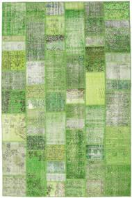 Patchwork Dywan 199X302 Nowoczesny Tkany Ręcznie Jasnozielony/Pastel Zielony (Wełna, Turcja)