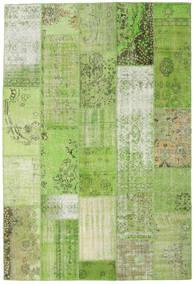 Patchwork Dywan 201X299 Nowoczesny Tkany Ręcznie Jasnozielony/Zielony (Wełna, Turcja)