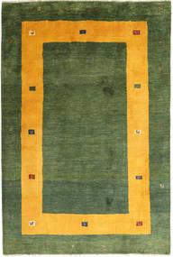 Gabbeh (Persja) Dywan 204X302 Nowoczesny Tkany Ręcznie Ciemnozielony/Pomarańczowy/Zielony/Oliwkowy (Wełna, Persja/Iran)