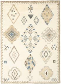 Berber Indie - Kość Słoniowa/Beżowy Dywan 210X290 Nowoczesny Tkany Ręcznie Biały/Creme/Beżowy (Wełna, Indie)