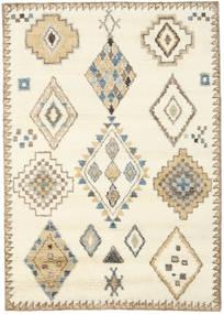 Berber Indie - Kość Słoniowa/Beżowy Dywan 160X230 Nowoczesny Tkany Ręcznie Beżowy/Jasnobrązowy (Wełna, Indie)