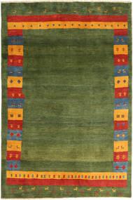Gabbeh (Persja) Dywan 200X300 Nowoczesny Tkany Ręcznie Zielony/Oliwkowy/Ciemnozielony (Wełna, Persja/Iran)